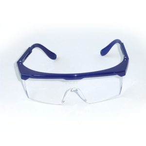GAFAS SEGURIDAD FLASH AZUL