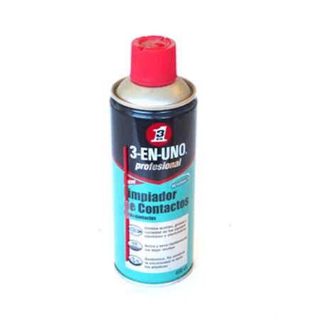 LIMPIADOR DE CONTACTOS - Spray 250 ml.