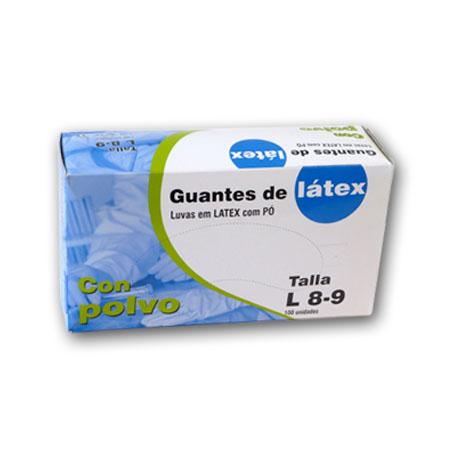 GUANTE LATEX DESECHABLE TALLA M